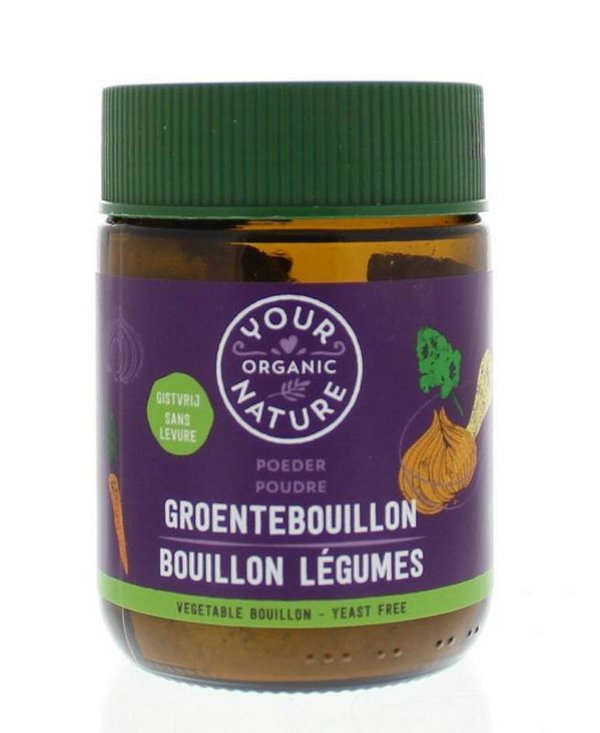Your organic nature bouillon (zonder gist)
